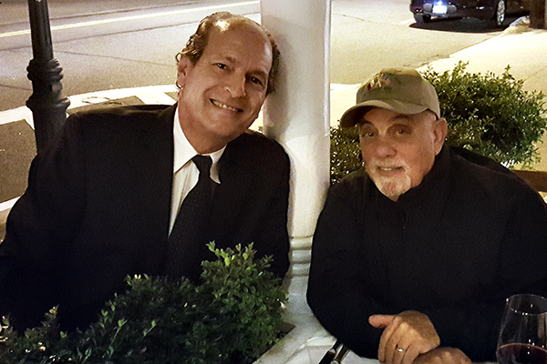 Lee Glantz with Billy Joel