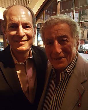 Lee Glantz with Tony Bennett